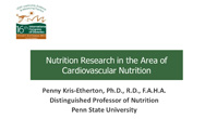 Nutrition Research Presentaion